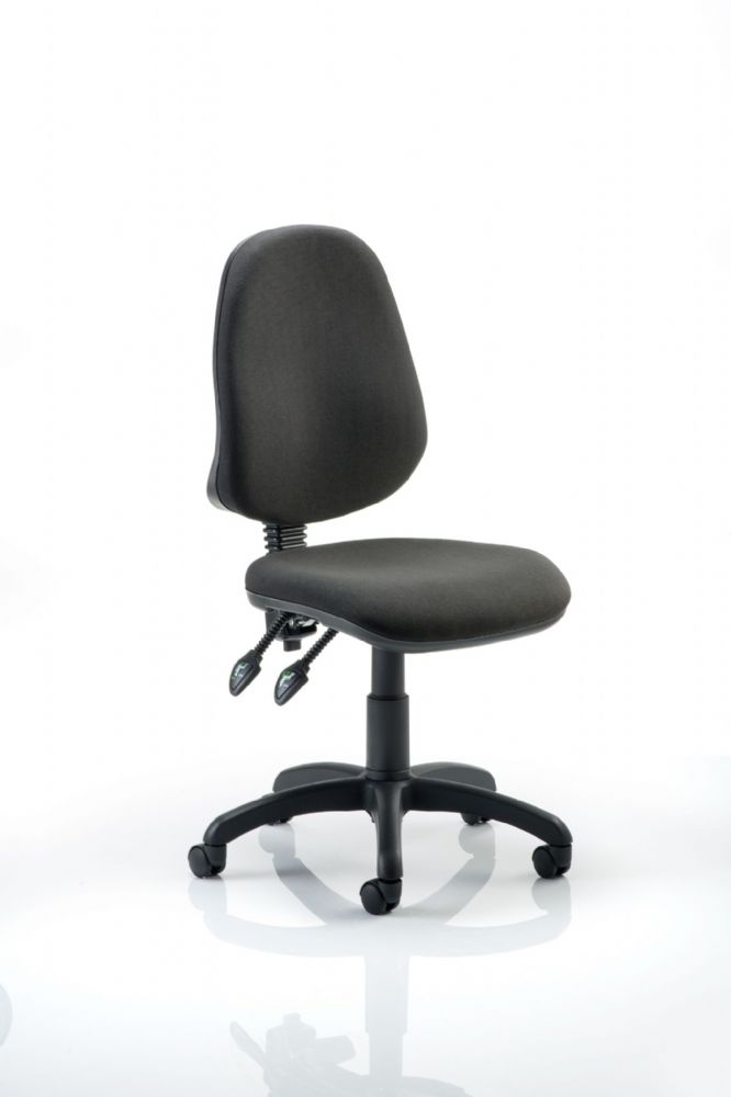 Eclipse Plus 2 Operator Chair Office Task No Arms Two Lever Mechanism  Various Colour options